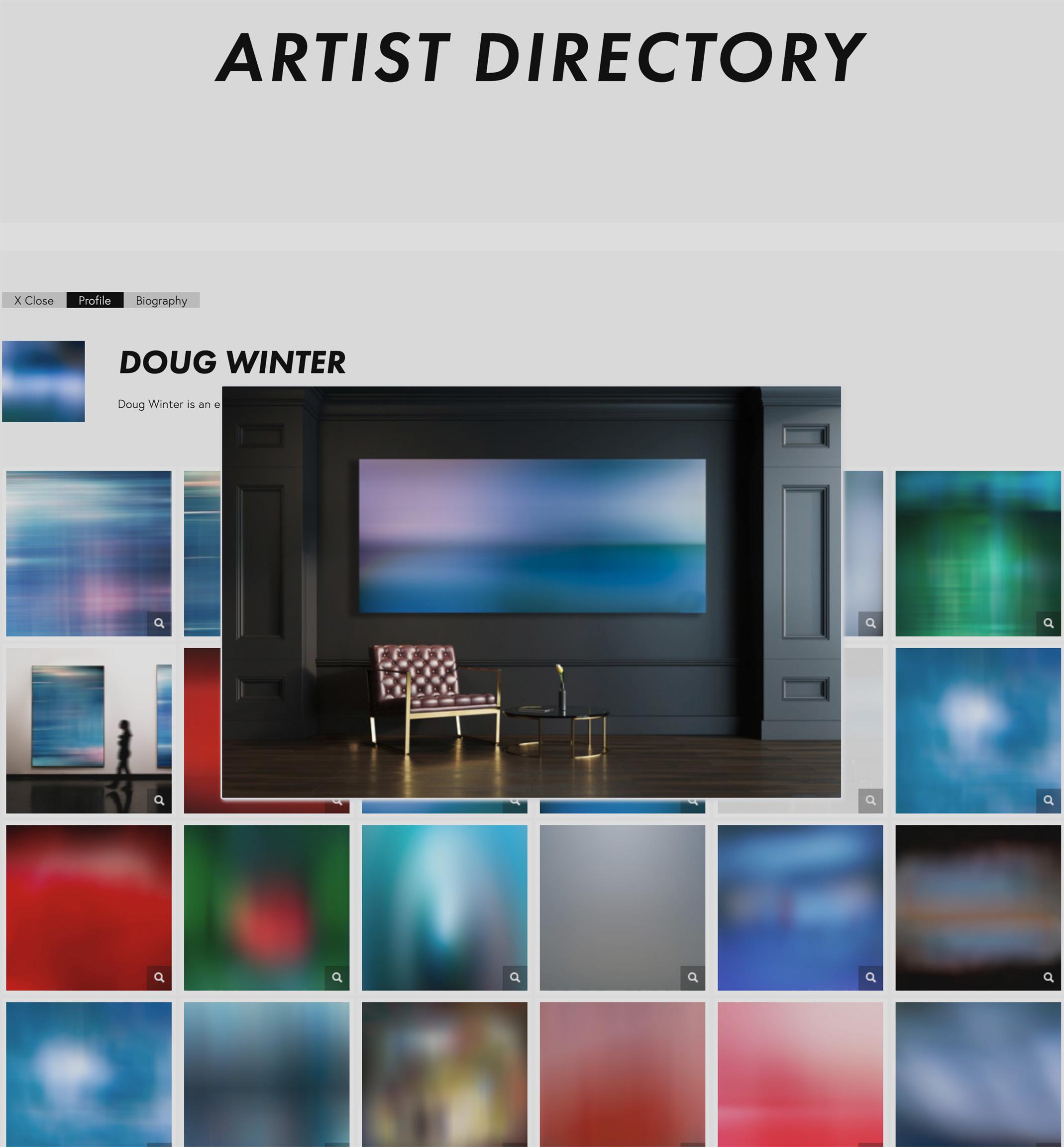 Floorr Magazine artist directory