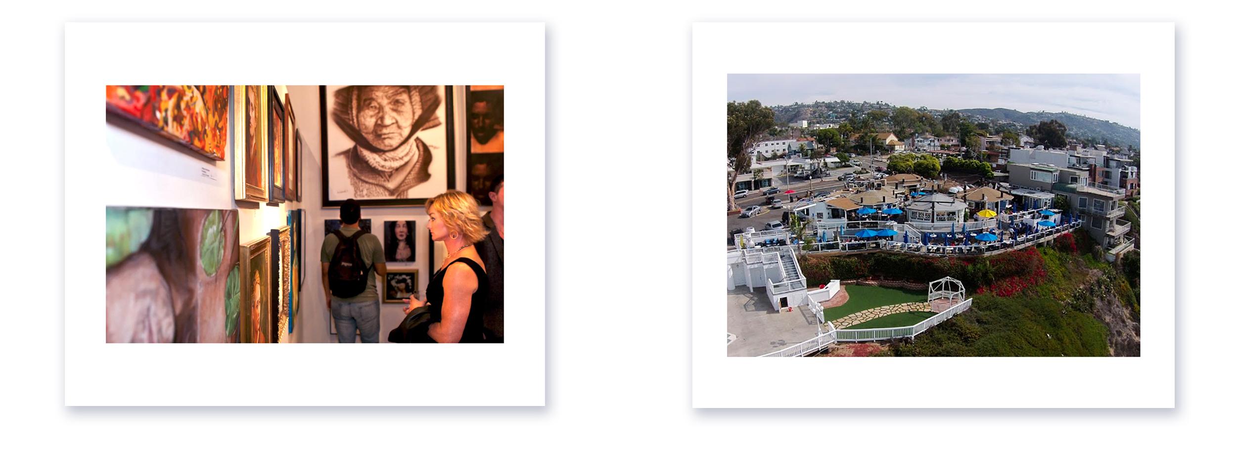 Las Laguna Art Gallery, The 2nd Half (50 and Older) 2021, Los Angeles. Landscape of Art Gallery